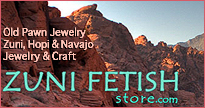 Buy old and dead pawn American Indian Jewelery, Zuni, Hopi, Navajo and Santo Domingo Pueblo jewelry and crafts
